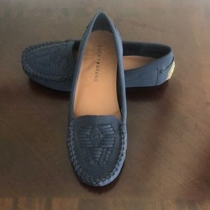 Lucky Brand Navy Loafers